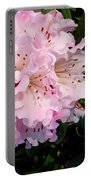 Pink Rhodies Portable Battery Charger