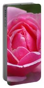 Pink Rose 08 Portable Battery Charger