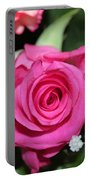 Pink Rose Adds Colour Portable Battery Charger