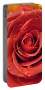 Pink Rose Drops Portable Battery Charger