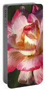 Pink Rose Painted  Portable Battery Charger