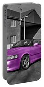 Pink Saab  Portable Battery Charger