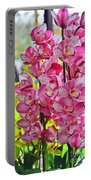 Pink Shadows Portable Battery Charger