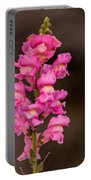 Pink Snapdragon Portable Battery Charger