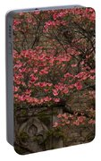 Pink Spring - Dogwood Filigree And Lace Portable Battery Charger