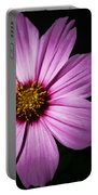 Pink Tickseed  Portable Battery Charger