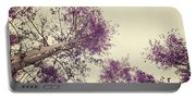 Pink Trees Portable Battery Charger