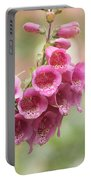 Pink Trumpet Portable Battery Charger by Kim Hojnacki