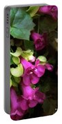 Pink Trumpets Portable Battery Charger
