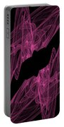 Pink Web Portable Battery Charger