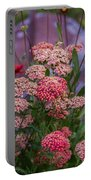 Pink Yarrow Portable Battery Charger