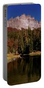 Pinnacle Buttes On Brooks Lake Creek Rocky Mountains Portable Battery Charger