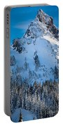 Pinnacle Peak Winter Glory Portable Battery Charger