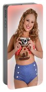 Pinup Photographer Portable Battery Charger