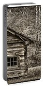 Pioneer Cabin And Shed In Cades Cove E227 Portable Battery Charger