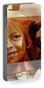 Pippi Longstocking - Fan Version Portable Battery Charger
