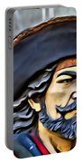 Pirate Man Portable Battery Charger