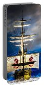Pirates Portable Battery Charger by Bob Orsillo