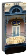 Pirates Signage New Orleans Disneyland Portable Battery Charger