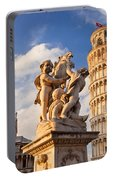 Pisa's Leaning Tower Portable Battery Charger