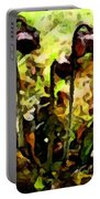 Pitcher Plant Abstraction Portable Battery Charger