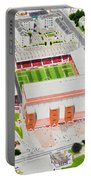 Pittodrie Stadia Art Portable Battery Charger
