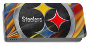 Pittsburgh Steelers Football Portable Battery Charger