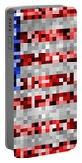 Pixel Flag Portable Battery Charger