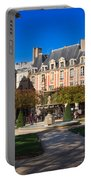 Place Des Vosges Paris Portable Battery Charger