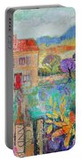 Place In The Country, 2014, Acrylicpaper Collage Portable Battery Charger