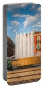 Place Massena At Dusk Portable Battery Charger