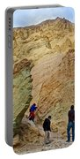 Places To Climb In Golden Canyon In Death Valley National Park-california Portable Battery Charger