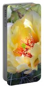 Plains Prickly Pear Flower Portable Battery Charger
