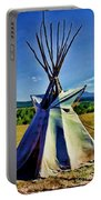 Plains Tribes Teepee Portable Battery Charger
