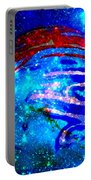Planet Disector Blue/red Portable Battery Charger
