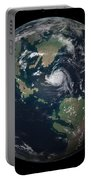 Planet Earth 90 Million Years Ago Portable Battery Charger by Walter Myers