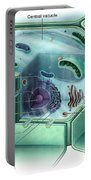Plant Cell, Illustration Portable Battery Charger