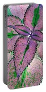 Plant Pattern - Photopower 1211 Portable Battery Charger