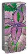 Plant Pattern - Photopower 1212 Portable Battery Charger