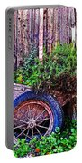 Planted Wheel Portable Battery Charger