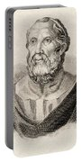 Plato From Crabbes Historical Dictionary Portable Battery Charger