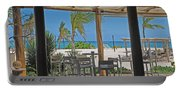 Playa Blanca Restaurant Bar Area Punta Cana Dominican Republic Portable Battery Charger