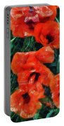 Playful Poppies 5 Portable Battery Charger