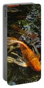 Playing Koi With Me Portable Battery Charger