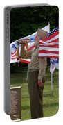 Playing Taps 2 Panel Composite Digital Art Portable Battery Charger