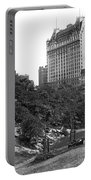Plaza Hotel From Central Park Portable Battery Charger