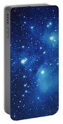 Pleiades Star Cluster Portable Battery Charger