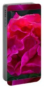 Plentiful Supplies Of Pink Peony Petals Abstract Portable Battery Charger