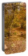 Plessey Woods Trail Over Footbridge Portable Battery Charger