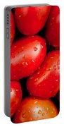 Plum Tomatoes Portable Battery Charger